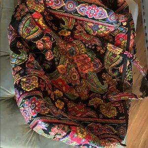 VERA BRADLEY SYMPHONY IN HUE DUFFEL BAG RETIRED